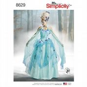 8629 Simplicity Pattern: Misses' Costume